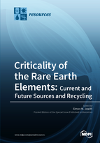 Special issue Criticality of the Rare Earth Elements: Current and Future Sources and Recycling book cover image