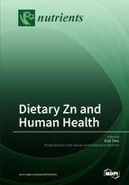 Special issue Dietary Zn and Human Health book cover image