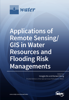 Special issue Applications of Remote Sensing/GIS in Water Resources and Flooding Risk Managements book cover image