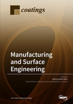 Special issue Manufacturing and Surface Engineering book cover image