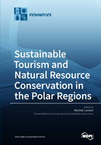 Special issue Sustainable Tourism and Natural Resource Conservation in the Polar Regions book cover image