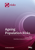 Special issue Ageing Population Risks book cover image