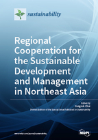 Special issue Regional Cooperation for the Sustainable Development and Management in Northeast Asia book cover image