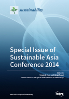 Special issue Special issue of Sustainable Asia Conference 2014 book cover image