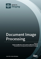 Special issue Document Image Processing book cover image