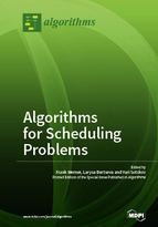 Special issue Algorithms for Scheduling Problems book cover image