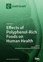 Special issue Effects of Polyphenol-Rich Foods on Human Health book cover image