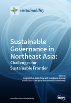 Special issue Sustainable Governance in Northeast Asia: Challenges for Sustainable Frontier book cover image