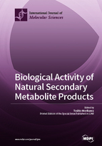 Special issue Biological Activity of Natural Secondary Metabolite Products book cover image