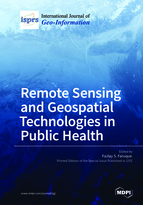 Special issue Remote Sensing and Geospatial Technologies in Public Health book cover image