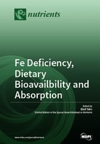 Special issue Fe Deficiency, Dietary Bioavailbility and Absorption book cover image