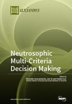 Special issue Neutrosophic Multi-Criteria Decision Making book cover image