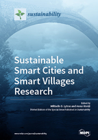 Special issue Sustainable Smart Cities and Smart Villages Research book cover image