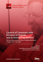 Special issue Control of Communicable Diseases in Human and in Animal Populations: 70th Anniversary Year of the Birth of Professor Rick Speare (2 August 1947 – 5 June 2016) book cover image