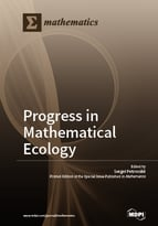 Special issue Progress in Mathematical Ecology book cover image
