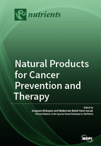 Special issue Natural Products for Cancer Prevention and Therapy book cover image