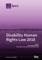 Special issue Disability Human Rights Law book cover image