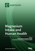 Special issue Magnesium Intake and Human Health book cover image