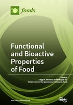 Special issue Functional and Bioactive Properties of Food book cover image