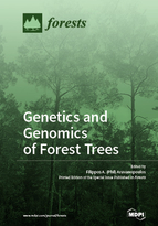 Special issue Genetics and Genomics of Forest Trees book cover image