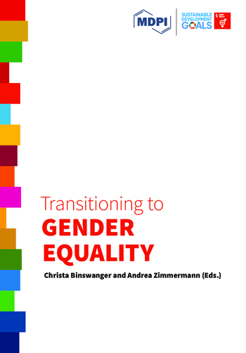 Transitioning to Gender Equality