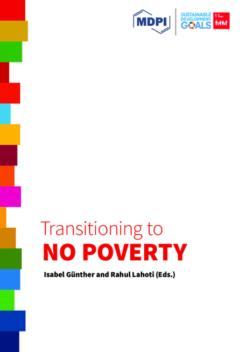 Transitioning to No Poverty