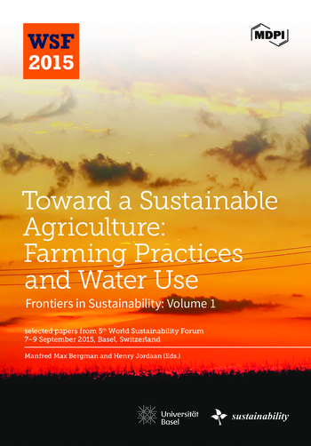 Toward a Sustainable Agriculture: Farming Practices and Water Use