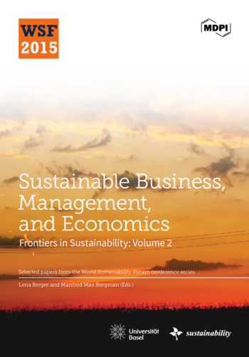 Sustainable Business, Management, and Economics